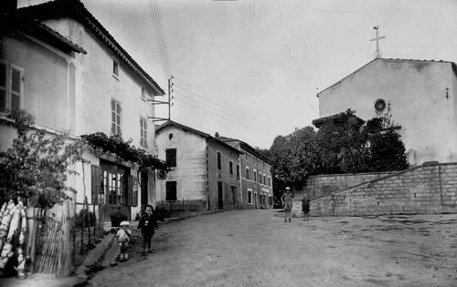 eglise-et-clocheton-en-bois-avant-1956