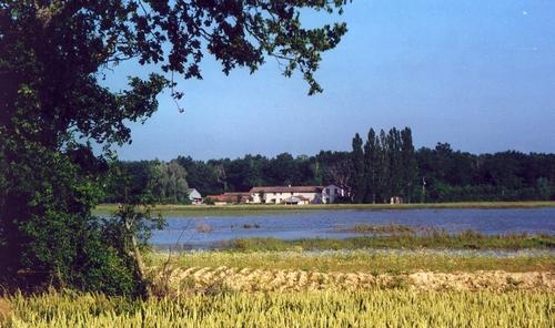 le-siege-de-la-fondation-enserre-entre-la-foret-des-oies-et-letang-praillebard-recree-en-decembre-1999-et-devolu-a-la-pisciculture-et-aux-etudes-sur-la-faune-et-la-flore-photo-b-castanier