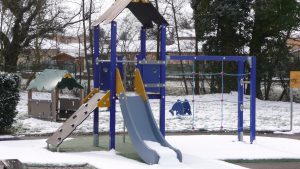 Aire de jeux petite enfance