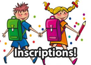 Image inscription école primaire